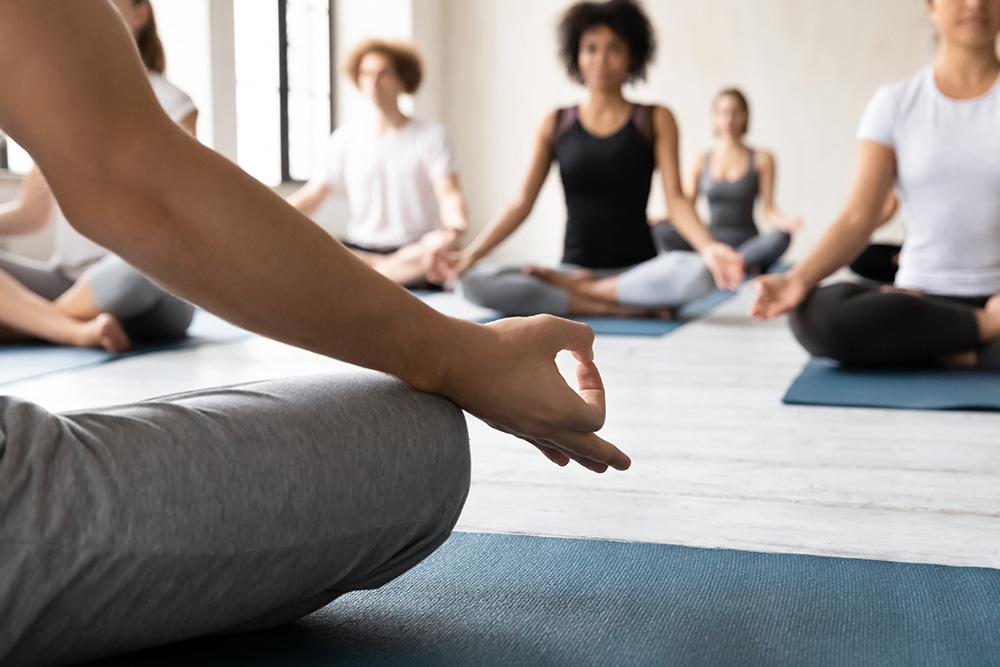 Balance en yoga bij sfc kampen