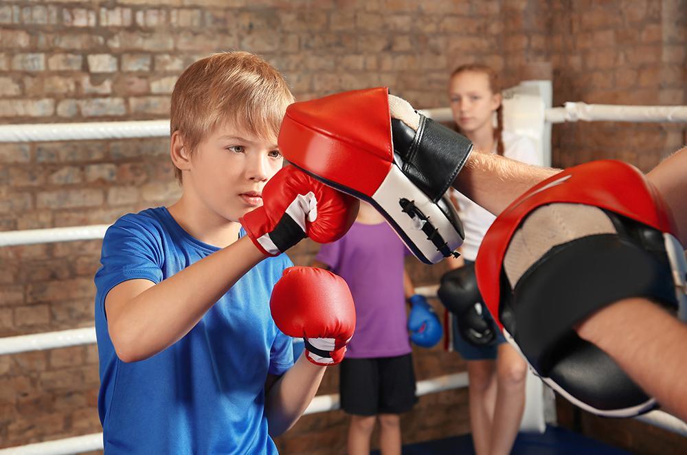 Kickboksen voor kinderen bij sfc kampen