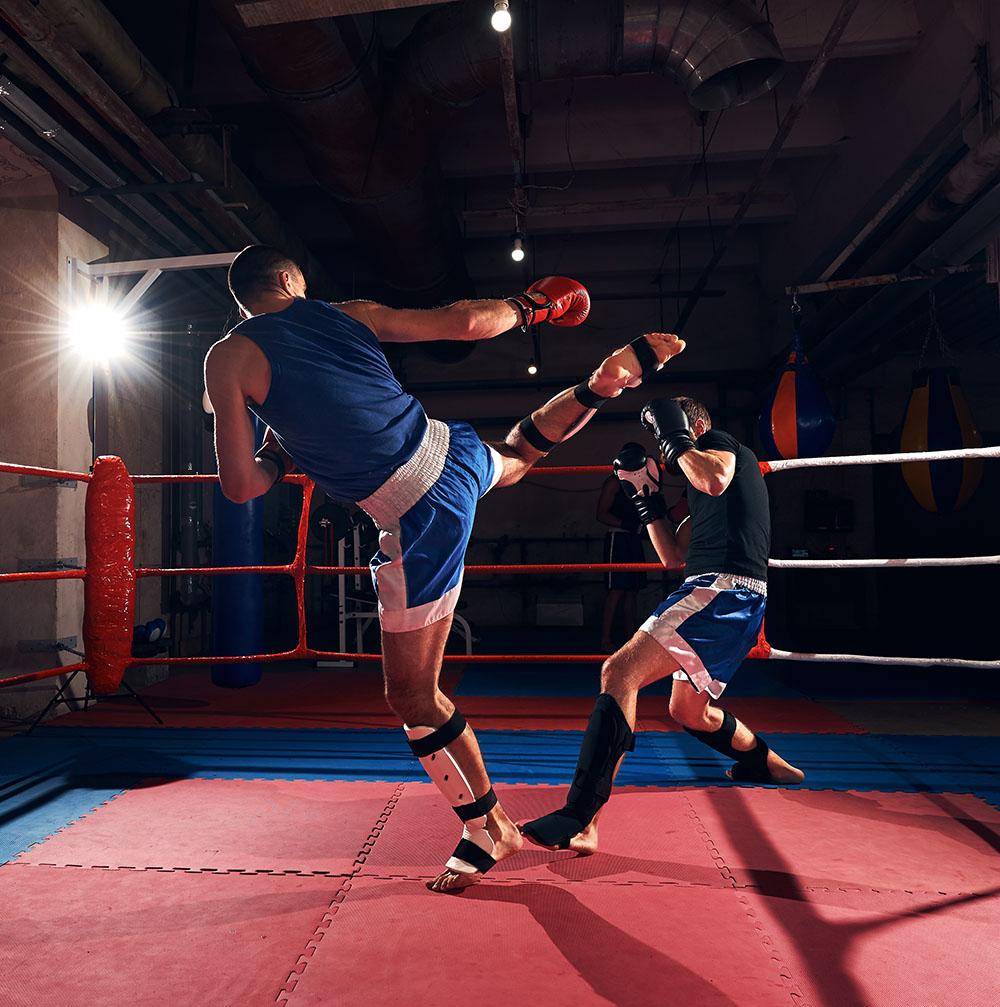 kickboksen bij sfc kampen